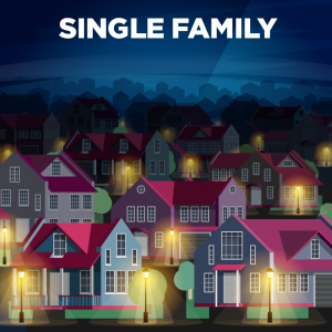 Single Family Residence (SFR) Real Estate - Sell a House